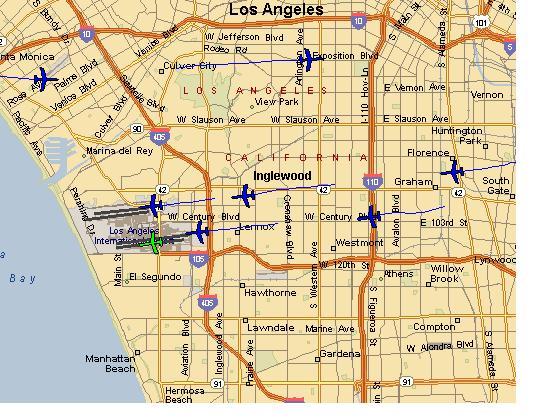 Sparkatopia Airport Monitor 2 0 Lets You Watch Lax Air Traffic Live